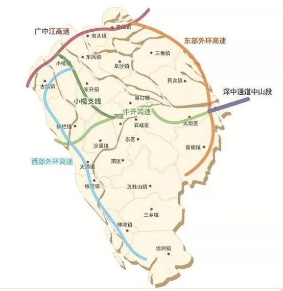 西环高速公路主线,小榄支线,连接线及辅道工程(古神二期南段)三部分.