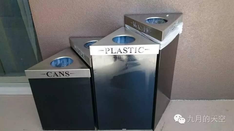 形态各异的分类垃圾箱图片
