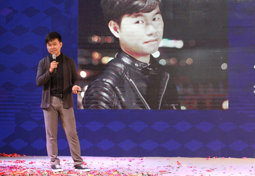 """f5未来商店联合创始人林小龙对""""零售的变革与创新""""进行了深刻的阐述.图片"""