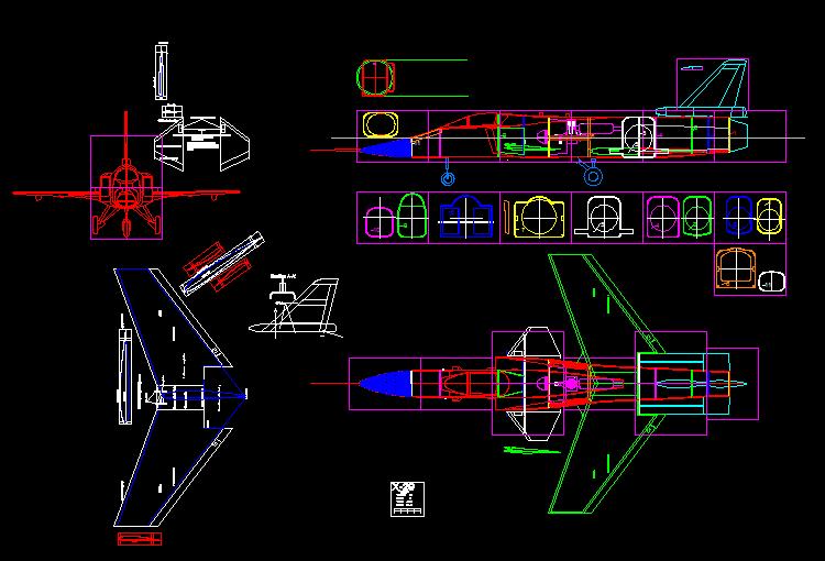 几百套飞机航模cad图纸,顶尖大师都在使用