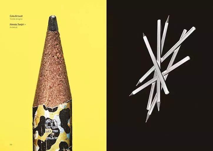 【开眼】全球最顶尖的设计大师们,都在用什么铅笔?