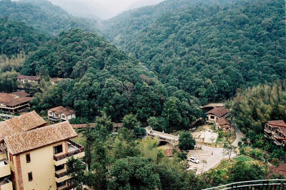 """传承传统风水理念,设计""""泗水环城""""的园林水景.图片"""