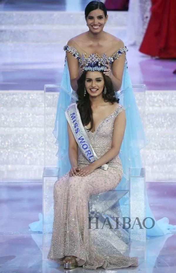 世界小姐冠军是印度人?高颜值高学历开挂得太服气