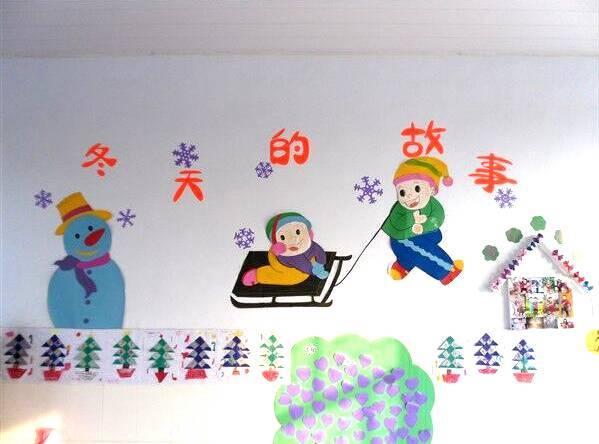 300款幼儿园冬季环创五大区域(楼梯 区角 吊饰 墙饰