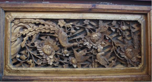 雕花,中国古建筑上最浪漫的气质
