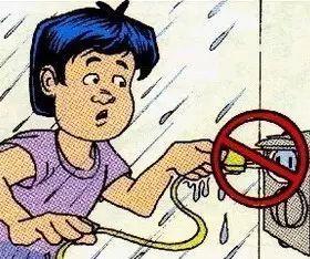 冬季安全用电小常识图片