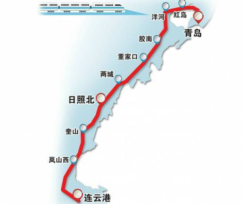 重大利好!青连铁路进入开通倒计时,未来连云港到青岛仅需一小时!