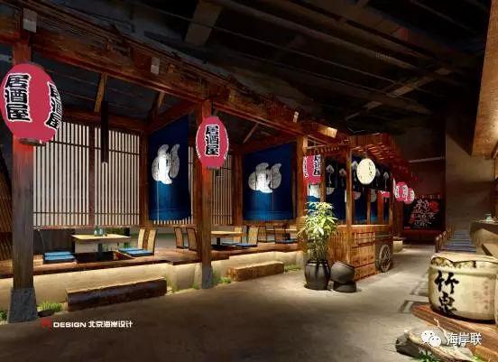 餐厅设计丨红树林和风阁居酒屋设计-北京没有接触过模具设计的怎么图片