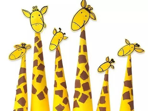 节日手工 | 四款长颈鹿的手工制作方法,幼师快来学习!