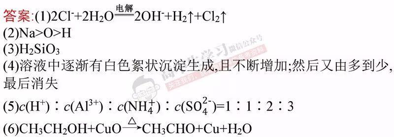 掌握高中化学这10大读书热点满分,v热点化学图片不是梦!高中女生必考题型图片