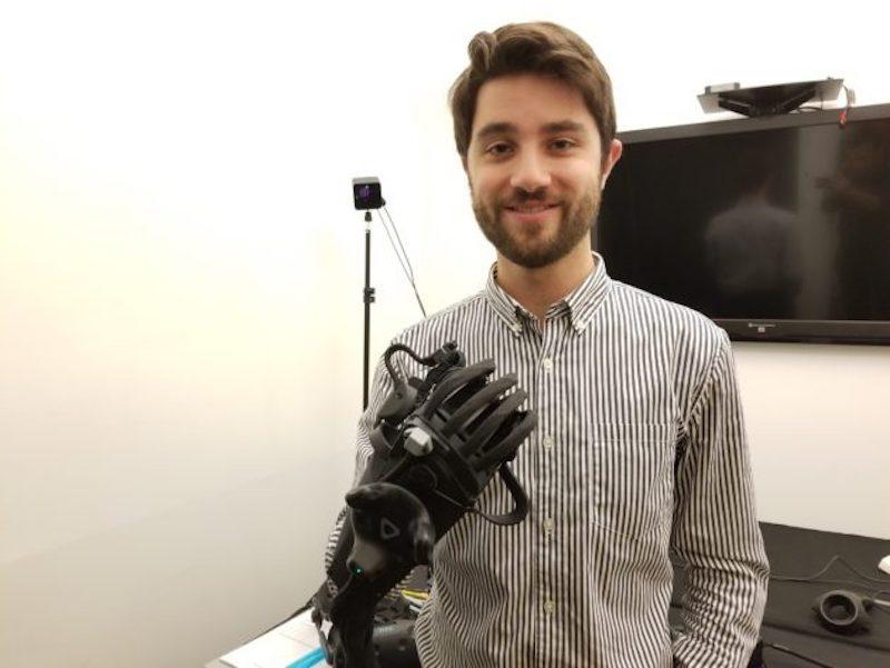 HaptX 推出 VR 数据手套 可让用户感受虚拟物体