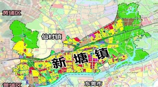 增城旅游手绘地图