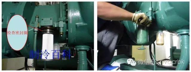 油过滤器,干燥过滤器更换及制冷循环结构与故障图片