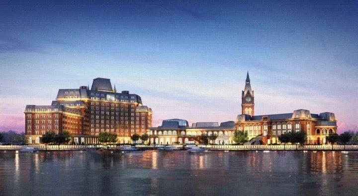 坐拥武汉市汉南区绿地城欧洲风情小镇,设有308间豪华客房,行政客房及图片