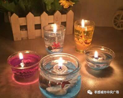 【城央25号】水晶蜡烛diy 与你浪漫相约