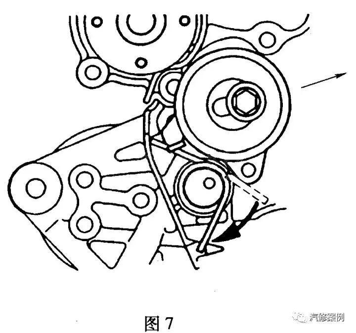 比亚迪f3发动机正时传动带拆装方法