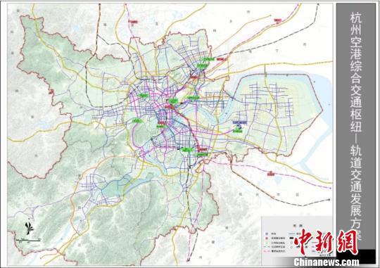 形成杭州站,杭州东站,杭州南站,杭州西站,机场站,江东站等六大客站及