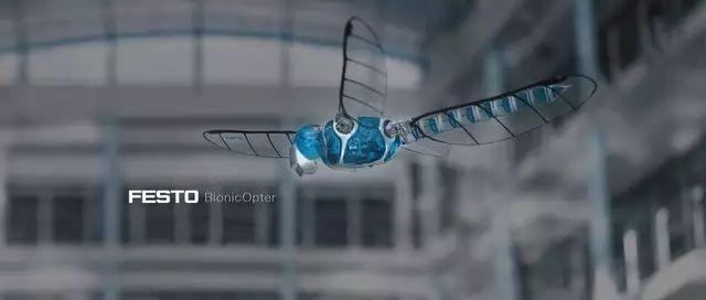 德国Festo设计生产出各种异常逼真的仿生动物机器人