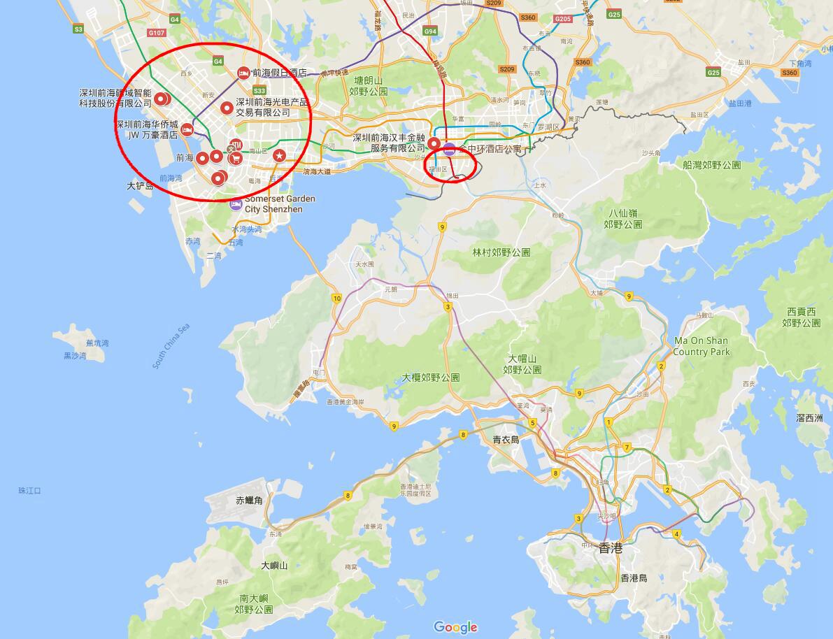 深圳前海三分一土地将供港企发展 港六大学进驻南山高新区图片
