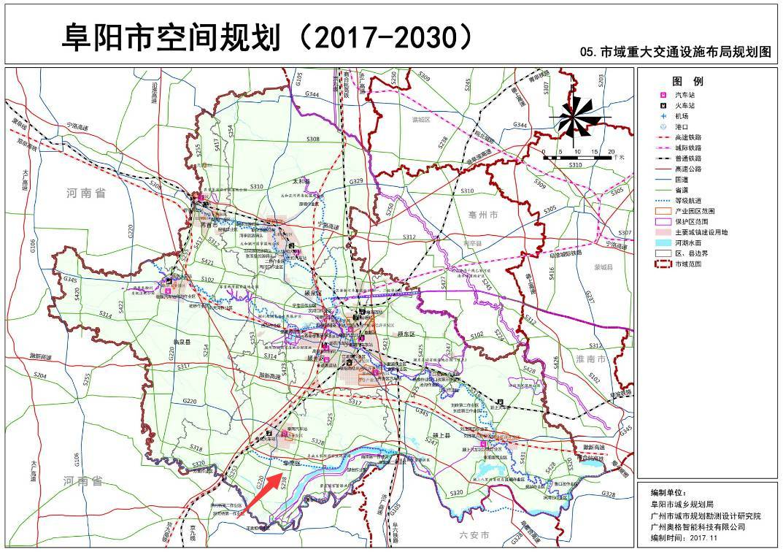 涟水规划图大图_最新!阜南撤县设区,已列入《阜阳市空间规划(2017-2030)》!