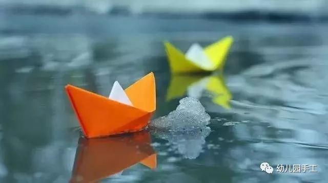 手工贺卡 记忆中的小船贺卡,手工小船,折纸小船,满满都是回忆