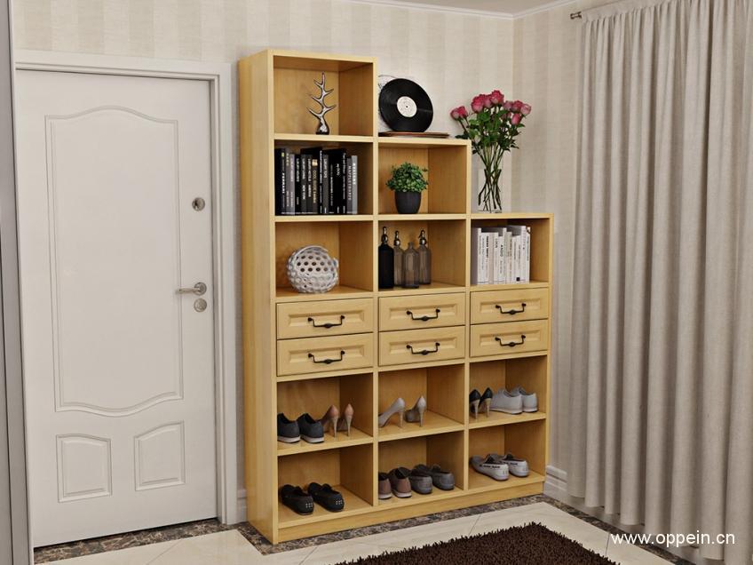 开放式鞋柜尺寸 鞋柜内部尺寸大公开