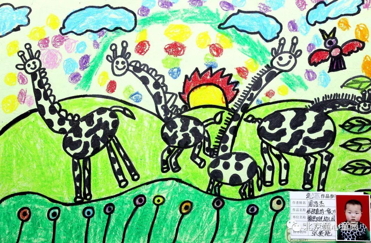最简单的春天儿童画图片_春天的美丽 - 5068儿童网