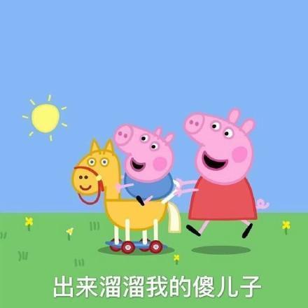 斗图必备的小猪佩奇表情包_搜狐搞笑