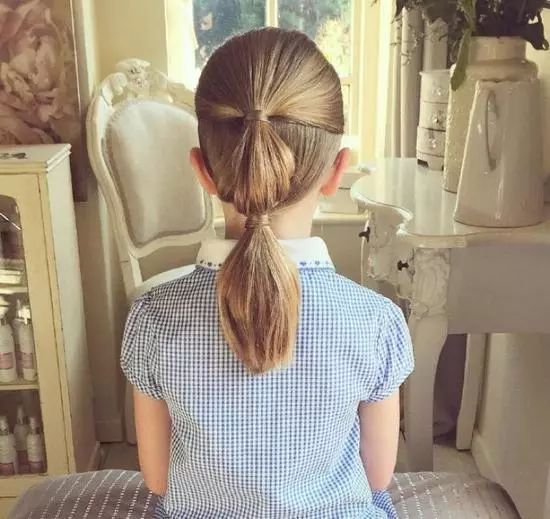 家里有可爱的萌娃 可是你却不会扎头发!图片