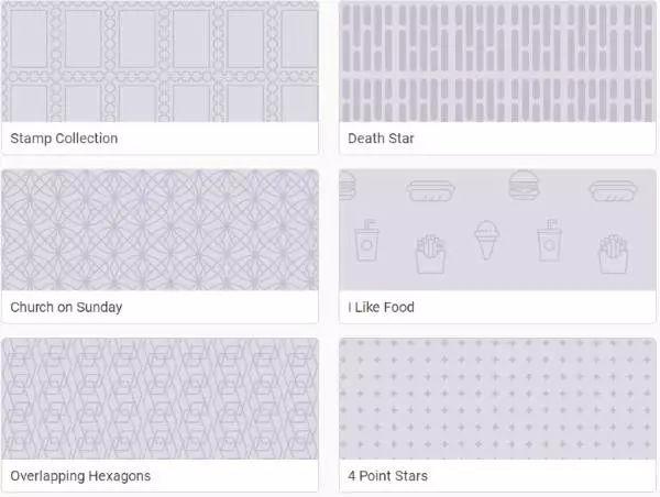 我们收集了6个纹理生成网站,用背景纹理,给你的 PPT 网页 文档提升一个档次