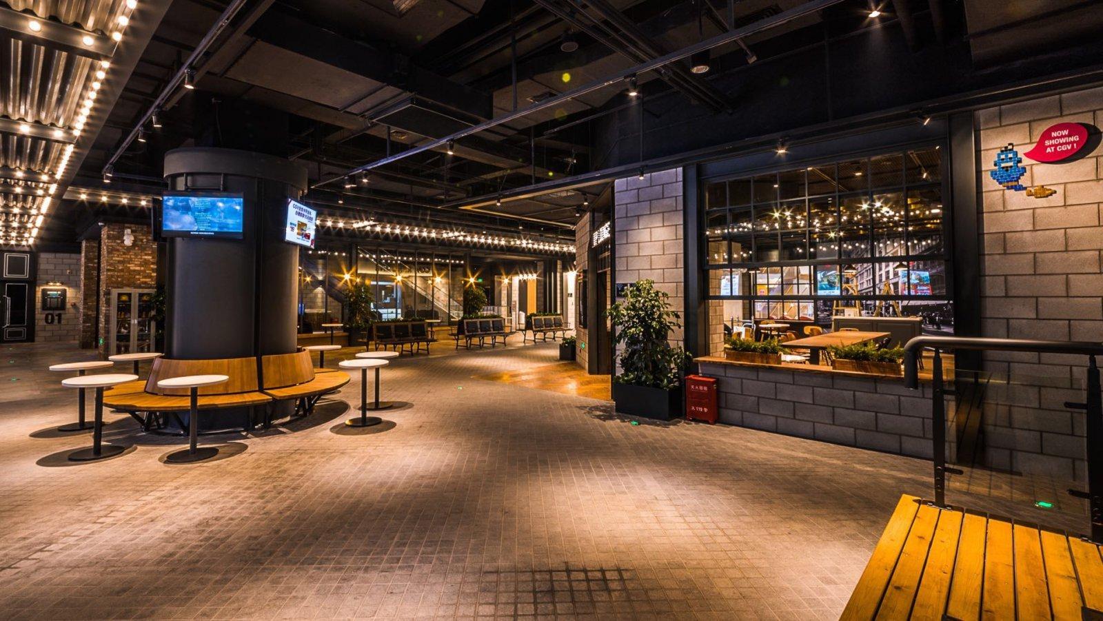 cgv电影院_7910平方米电影院cgv星聚汇杭州龙湖店设计,带给大家的\