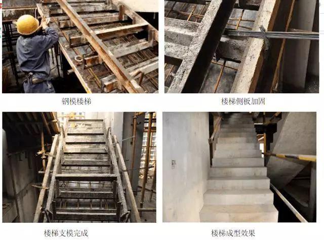 首层顶层楼梯画法_经验分享|中天建设楼梯模板施工方法总结