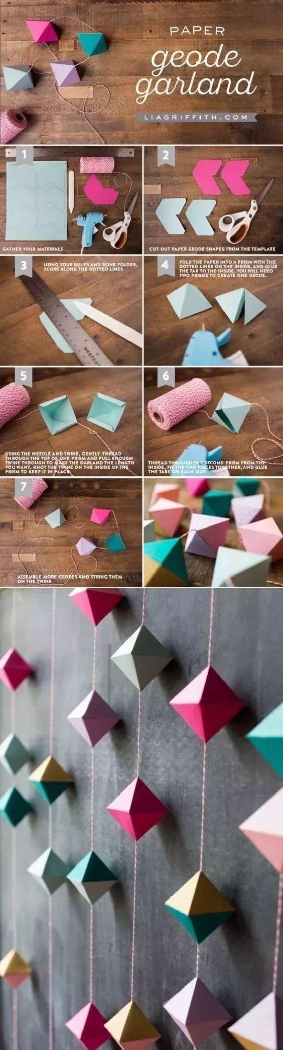 折纸千纸鹤diy