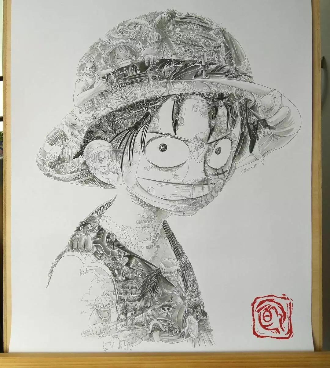 看看人家的画中画,一幅画里隐藏着数以千幅画,太太太意外了图片