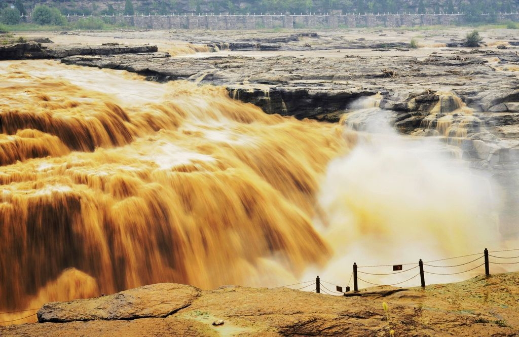 The Yellow River Is The Clear Water Of The Snow Covered Plateau - A long river