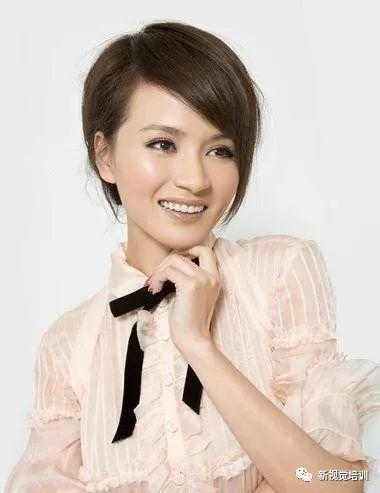 10款可爱的女生圆脸短发发型!