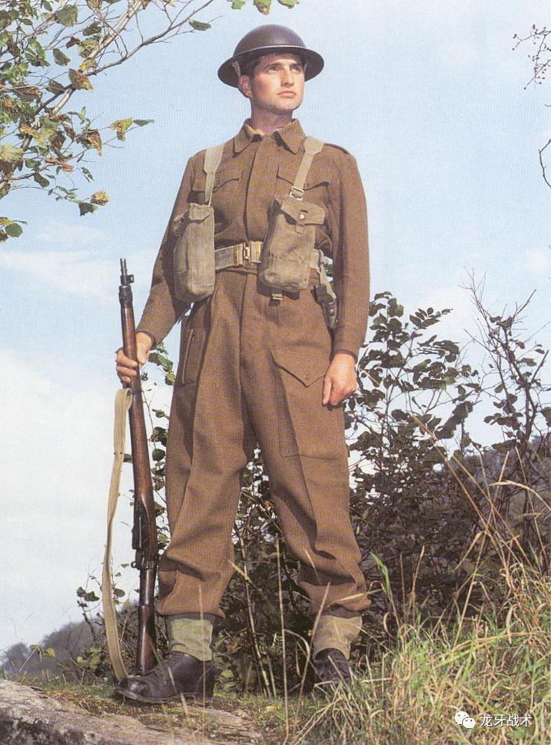英军会穿上百年的军服去打仗 一起看看二战英军军服吧