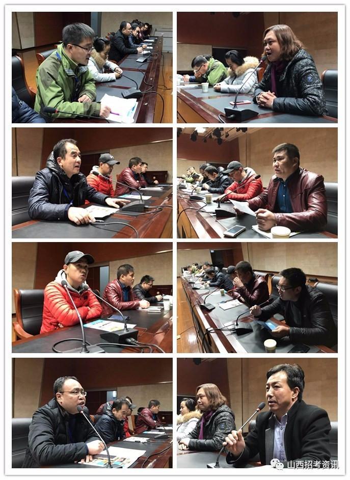 由岚县中学高三年级郭主任主持会议-单独招生咨询会持续进行中图片