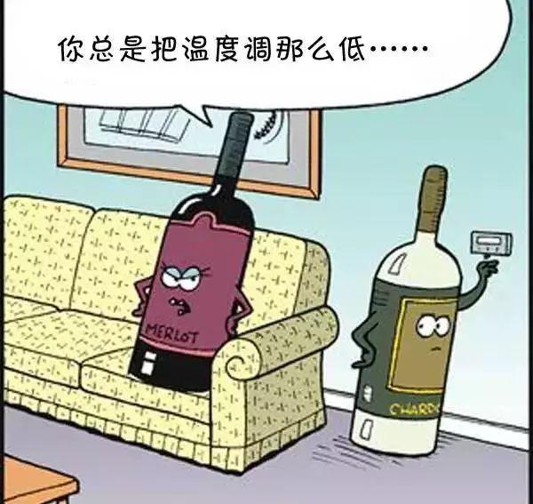 葡萄酒趣味漫画,请原谅我放荡不羁笑点低!