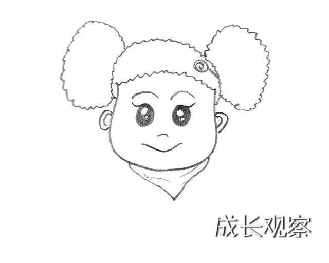 动漫 简笔画 卡通 漫画 手绘 头像 线稿 640_512