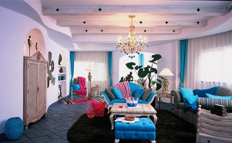 上海地中海风格别墅装修经典效果图-意大利汉斯设计事务所