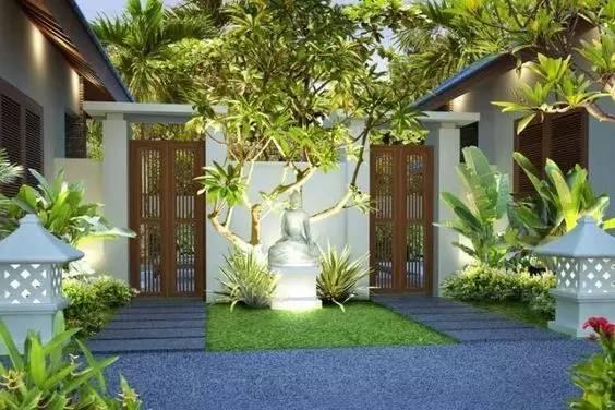 60款庭院入口景观,美得刚刚好