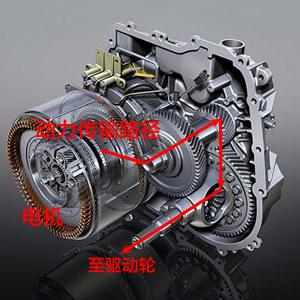 而像特斯拉这种纯电动的车,动力从电机出来之后,直接通过两对齿轮传动