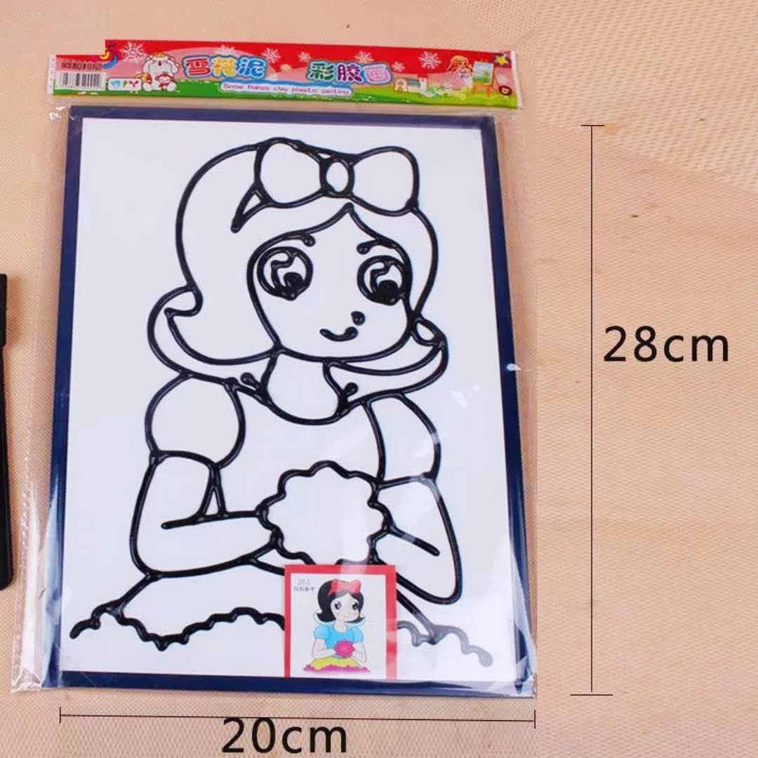 儿童胶泥作品图片