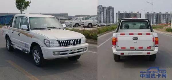 岳翎和凌锐重返市场。三辆北京皮卡被报告给工业和信息化部
