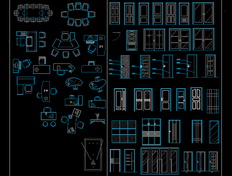 3层商场CAD设计图
