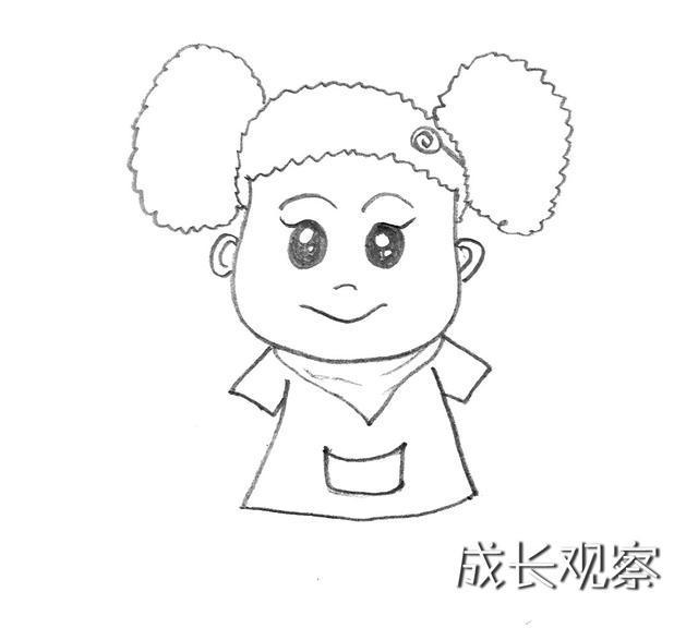 《棉花糖和云朵妈妈》之云朵妈妈的小棉袄——棉花糖简笔画来了