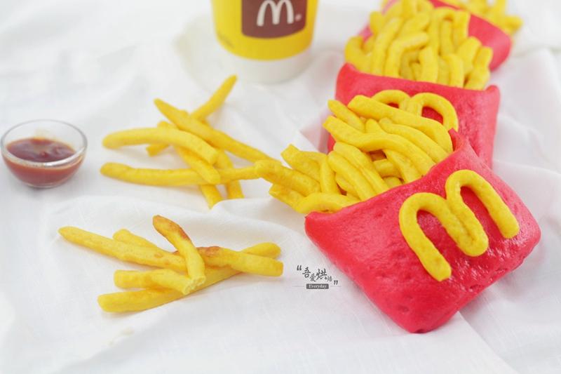 麦当劳 薯条 ,怎么吃都不会上火图片