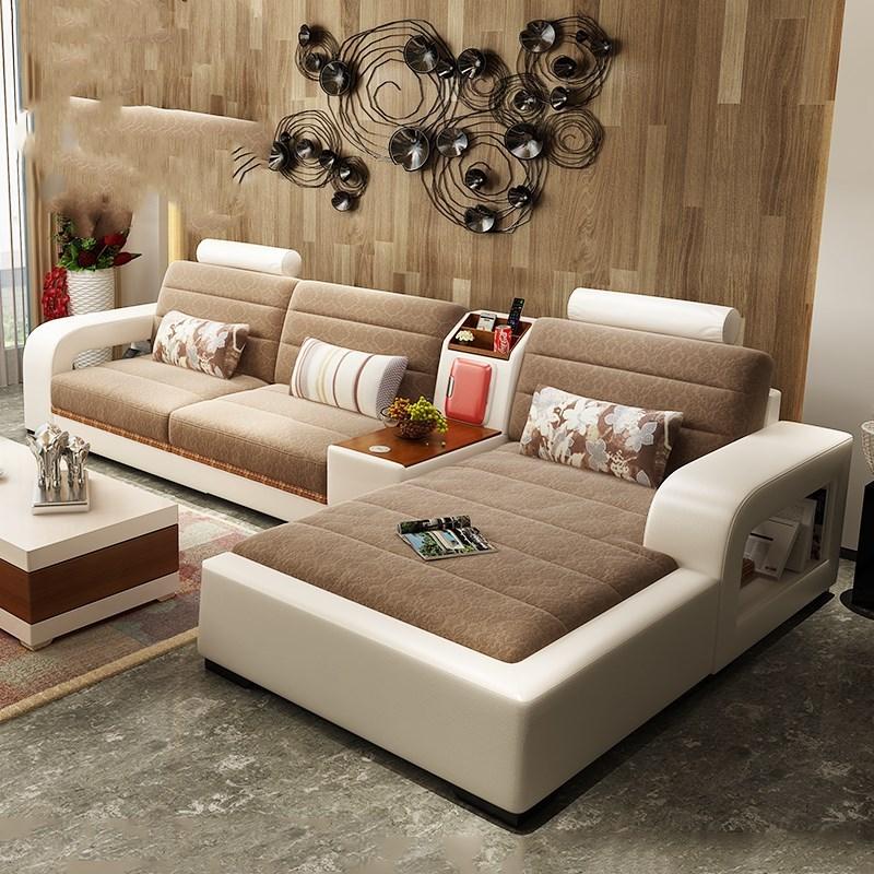 现在新房装饰特流行这种沙发,摆放客厅大气,老婆一眼看中第3款图片