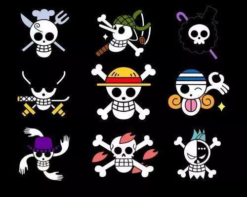 这些海贼旗标志,你能认出几个